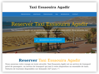 Taxi Essaouira Agadir