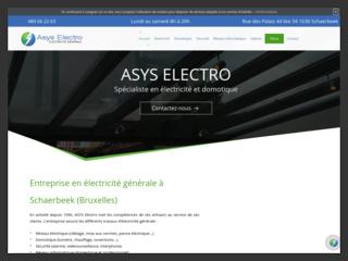 Installation électrique à Bruxelles chez ASYS ELECTRO