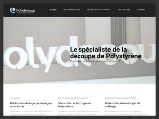 Expert de la découpe polystyrène - Logo volume
