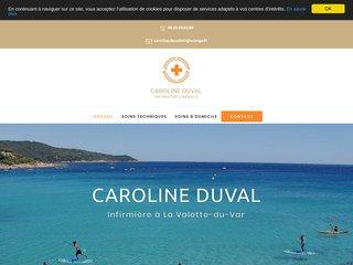 Caroline Duval - Infirmière à La Valette-du-Var