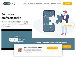 Centre de formations professionnelles - Reconversion pro