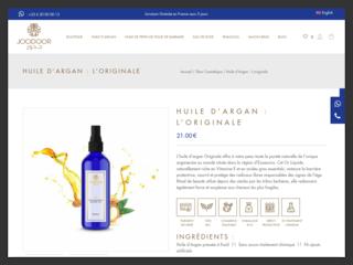 L'huile d'argan Joodoor 100% naturelle