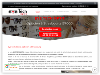 Opticien eye tech optic à Strasbourg