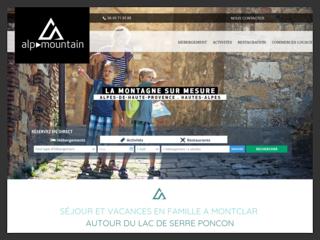 Alp Mountain vacances dans les Alpes-de-Haute-Provence