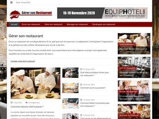 Ouverture et gestion des restaurants