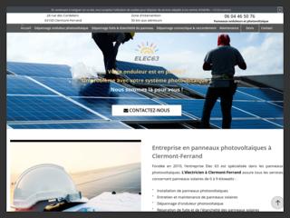 Installation des panneaux photovoltaïques à Clermont-Ferrand