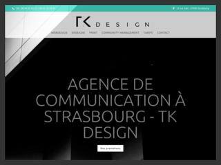 Création de votre site internet à Strasbourg chez TK Design