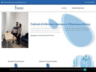 infirmier soins de trachéotomie Villeneuve-d'Ascq