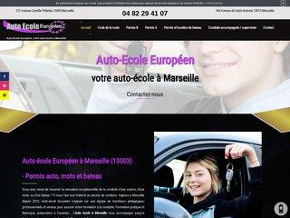 Examen code de la route à Marseille