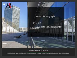 cabinet avocat luxembourg - droit du travail - droit de la construction luxembourg : Hornung Avocats