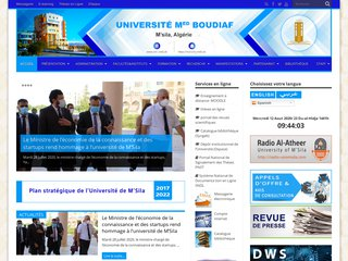 université Mohamed boudiaf de msila