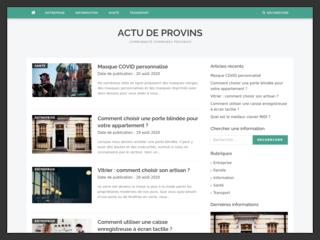Le blog généraliste cc-provinois