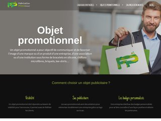 Fabrication d'objet promotionnel