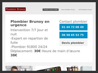 Plombier Brunoy