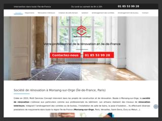 Service d'aménagement bureau  en Île-de-France