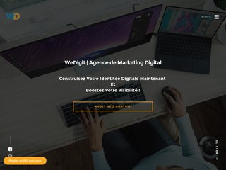 WeDigit: Agence de marketing digital