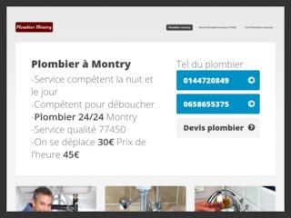 Plombier Montry