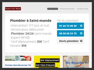 Plombier Saint-Mandé