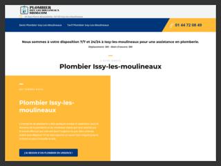 Plombier Issy-les-Moulineaux