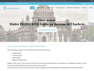 Cabinet d'avocat à Charleroi