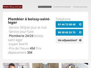 Plombier Boissy Saint Léger