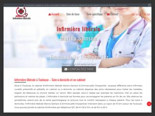 Soins palliatifs à Toulouse, cabinet de l'infirmière libérale Marina Samson
