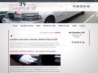 Service de location de limousine pas cher