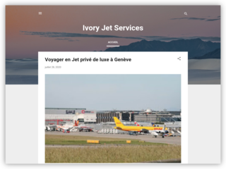 Ivory Jet Services - Blog