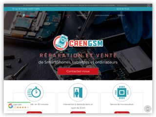 Réparation des ordinateurs à Caen chez CAEN GSM