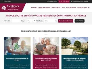 Annuaire national de maisons de retraite : Ascelliance Retraite