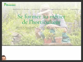Site d'informations sur l'horticulture