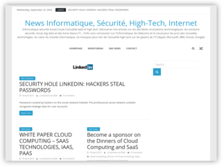 Suivez toute l'actualité web et high tech