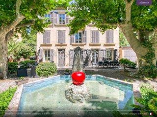 Chambre d'hôtes de charme à Aix en Provence