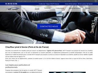 Trouvez un chauffeur VTC à Paris