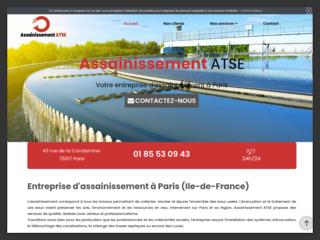 Des travaux d'assainissement  à Paris 17