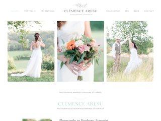 Photographe de mariage - Clémence Aresu