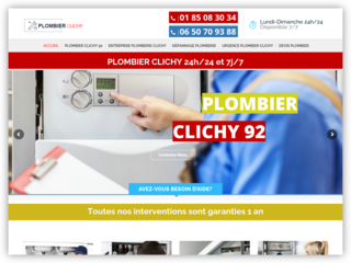Plombier Clichy