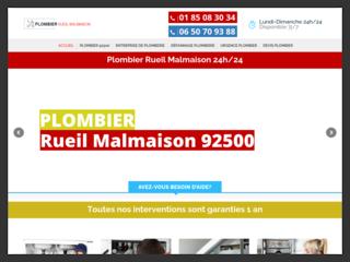 Plombier Reil-Malmaison