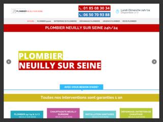 Plombier Neuilly-sur-Seine