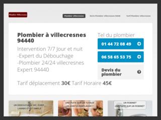 Plombier Villecresnes