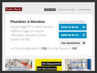 Plombier Meudon