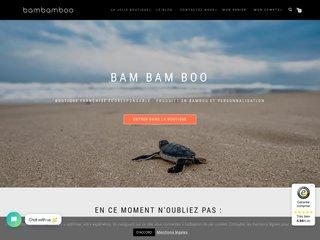 Produits en bambou écologiques et personnalisables