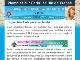 Plombier Paris 24/24