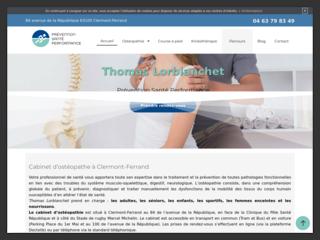 Ostéopathe du sport à Clermont-Ferrand
