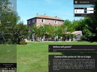 Bastide Rose – Chambres d'hôtes de luxe avec piscine à Isle-sur-la-Sorgue