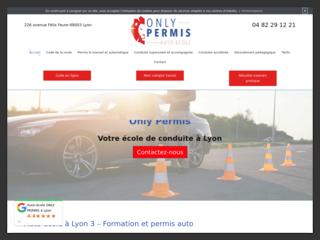 Auto-école à Lyon (3): Only Permis