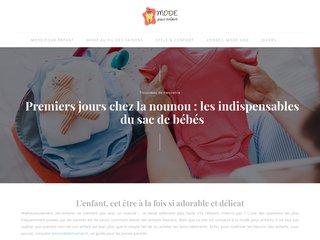 Le blog Mode pour Enfant