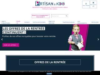 L' Artisan à KDO : Objets publicitaires et textiles personnalisés
