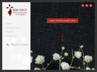 Faites appel à EGO-DECO professionnel de la publicité par l'objet à Lyon