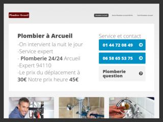 Plombier Arcueil